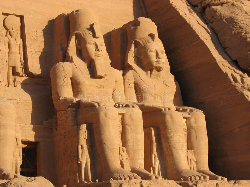 Abu Simbel stock photography