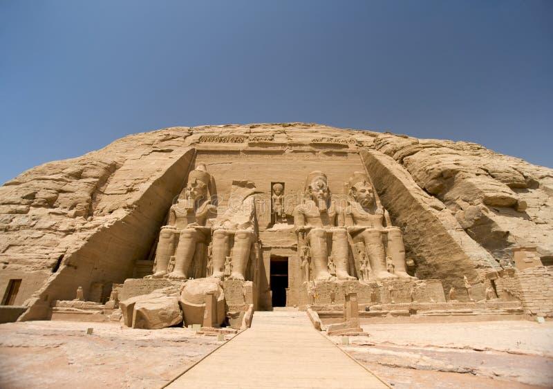 Abu Simbel foto de stock