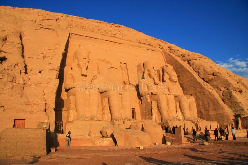 Abu Simbel fotografie stock