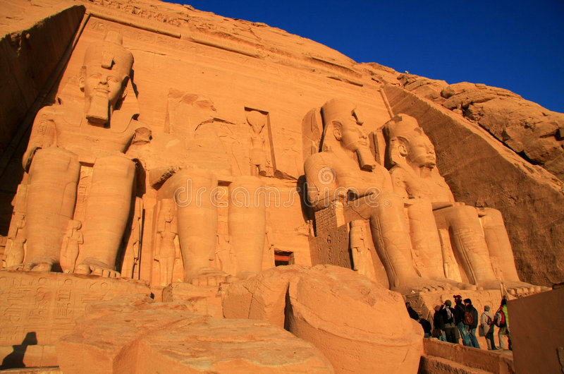 Abu Simbel lizenzfreie stockbilder