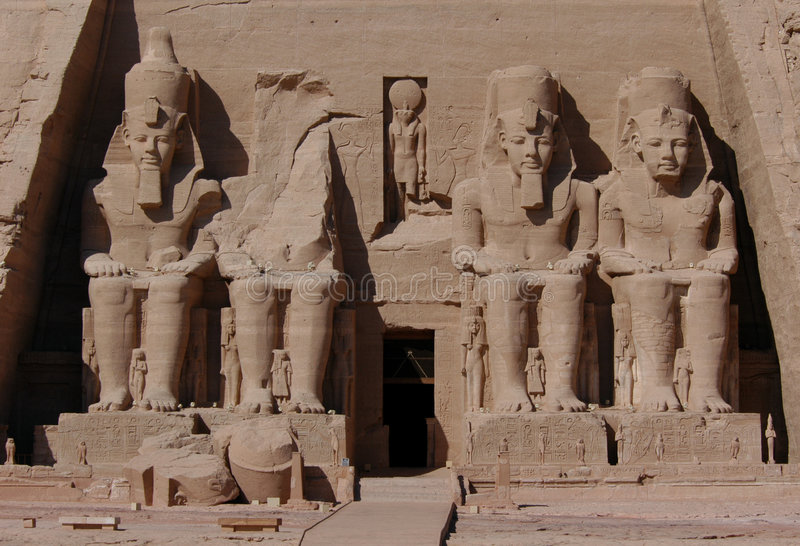 Abu Simbel imagen de archivo