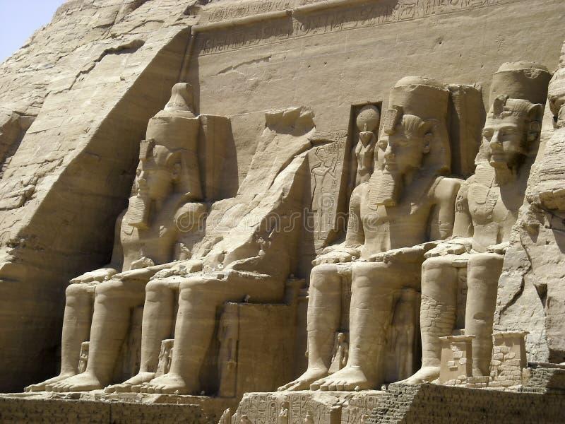 Abu Simbel lizenzfreies stockfoto