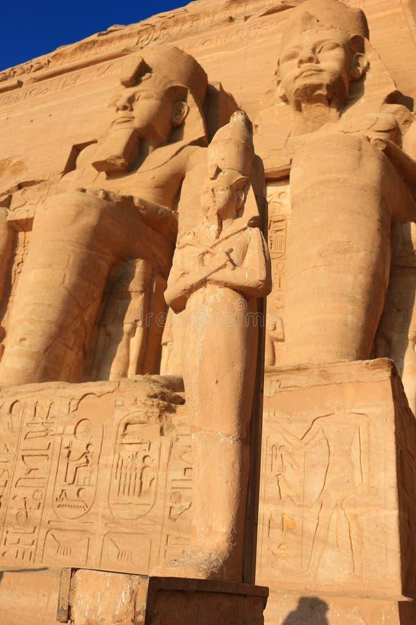 Abu Simbel foto de stock royalty free