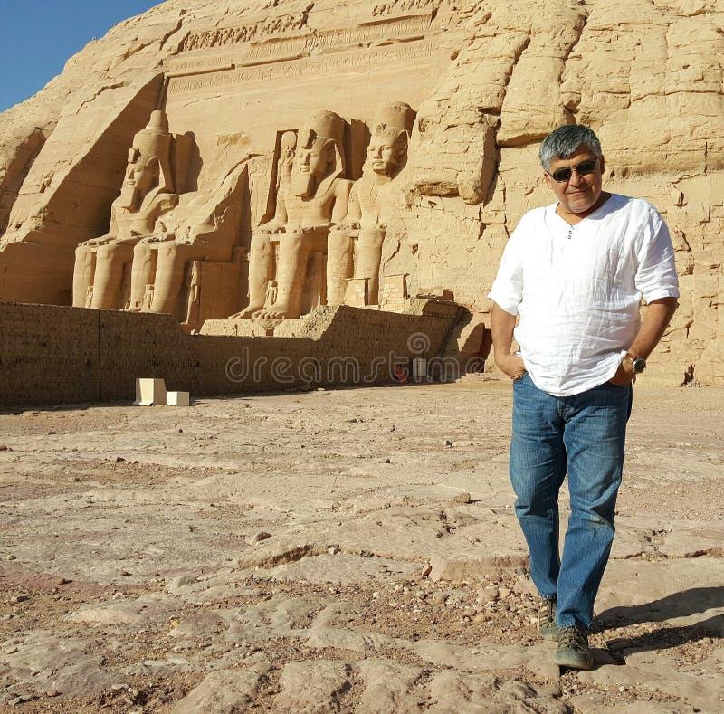 Abu Simbel image stock