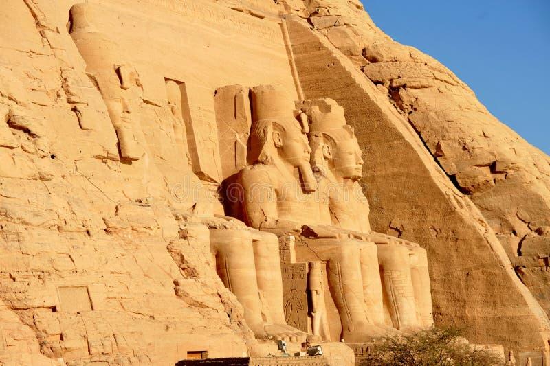 Abu Simbel fotografía de archivo libre de regalías
