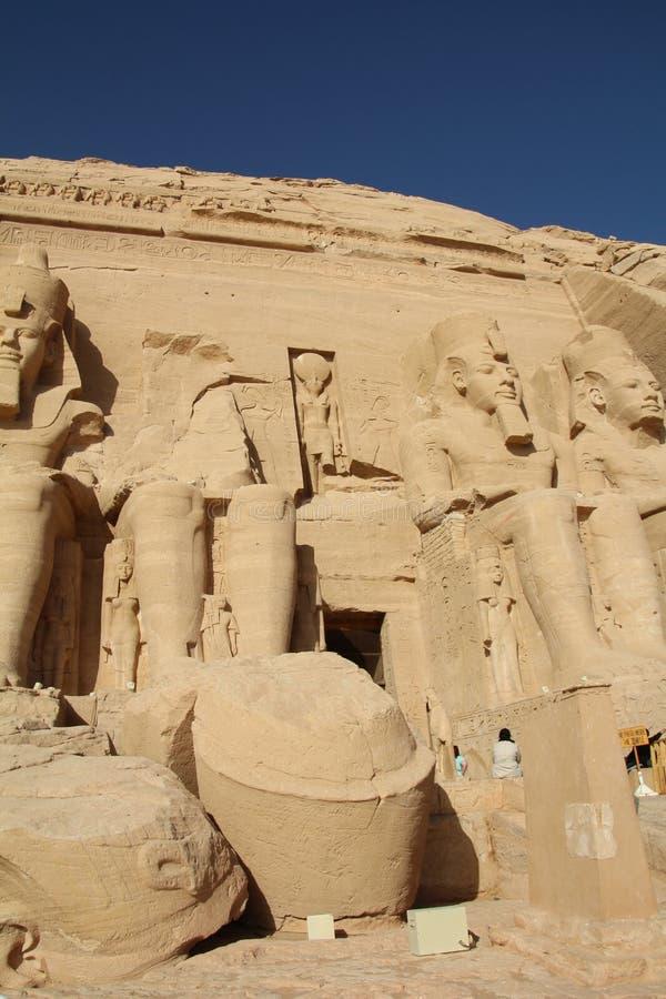 Abu Simbel lizenzfreie stockfotos