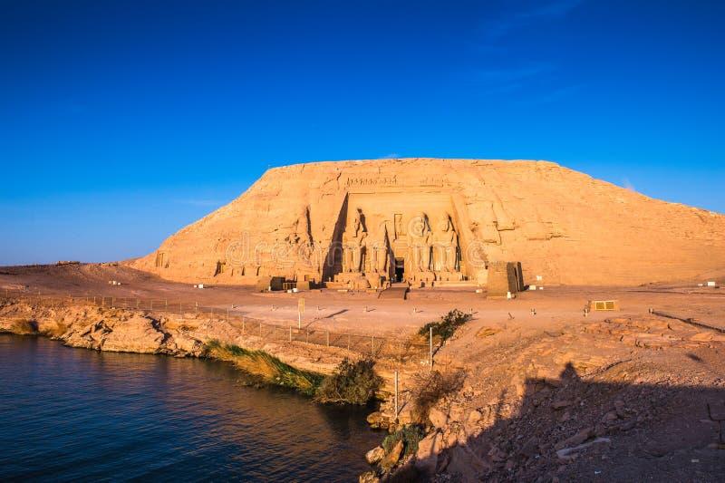 Abu Simbel, Egipto fotografía de archivo libre de regalías
