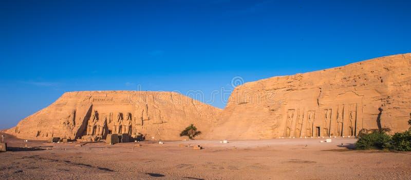 Abu Simbel, Egipto imagem de stock