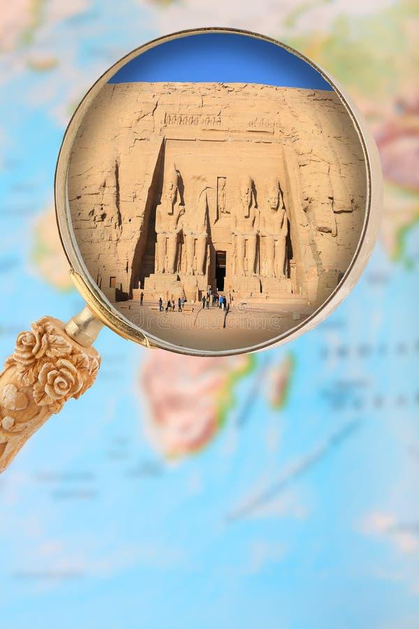 Abu Simbel, Egito África imagens de stock royalty free