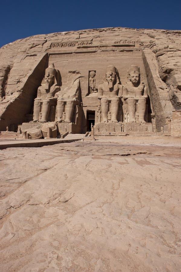Abu Simbel, Egitto antico, corsa di vacanza fotografie stock libere da diritti