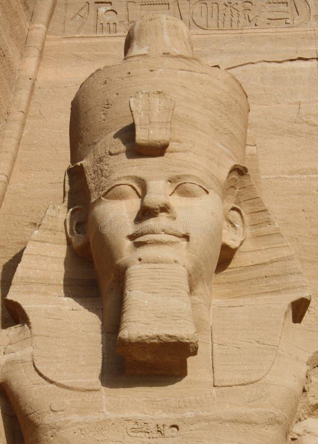 Abu Simbel i Egypten arkivfoton