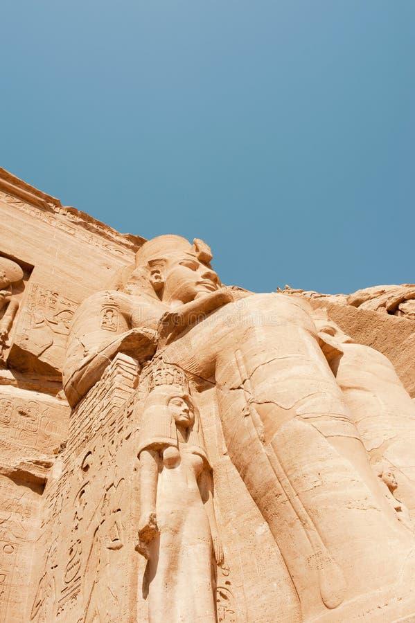 Abu Simbel Tempel stockfoto