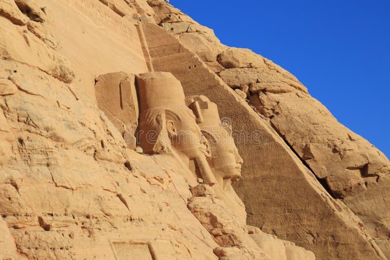 Abu Simbel tempel royaltyfria bilder