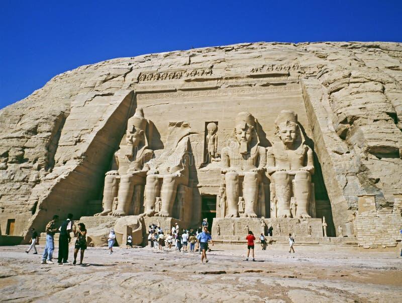 Download Abu Simbel temple stock photo. Image of century, history - 15265652