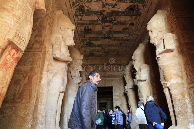 Abu Simbel Temple image stock