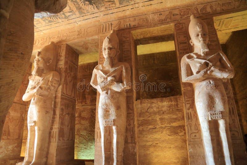 Abu Simbel Temple imagens de stock