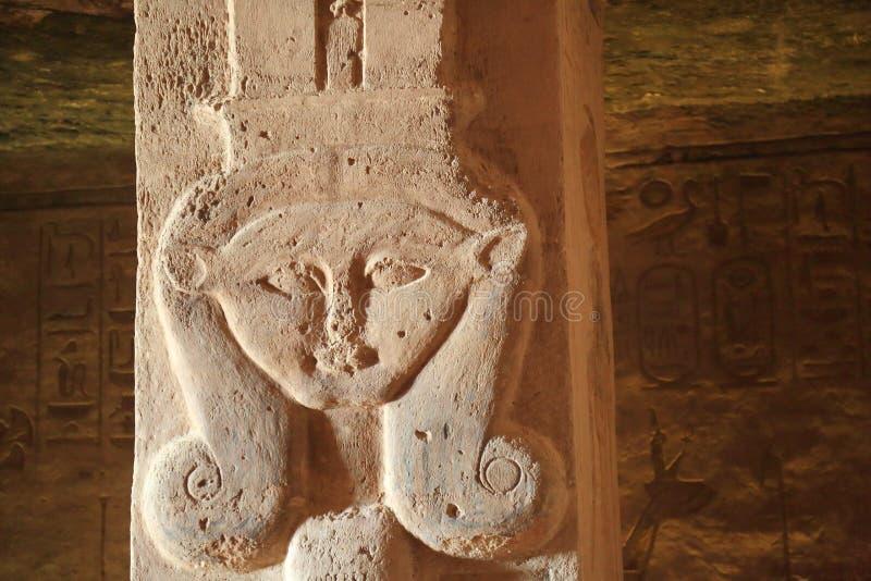 Abu Simbel Temple stockfotografie