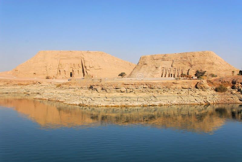 Abu Simbel Temple imagem de stock royalty free