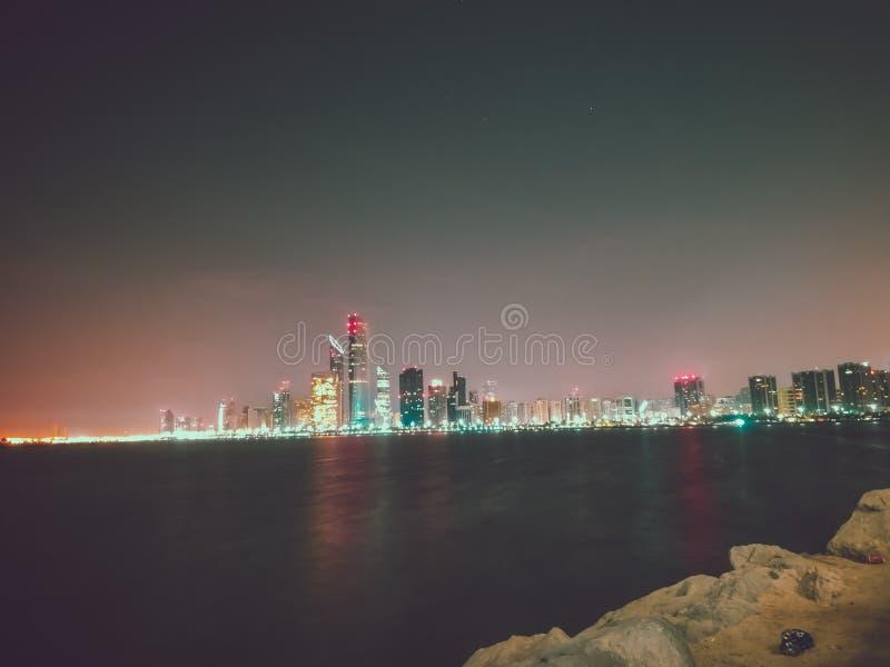 Abudhabi marina zdjęcia royalty free