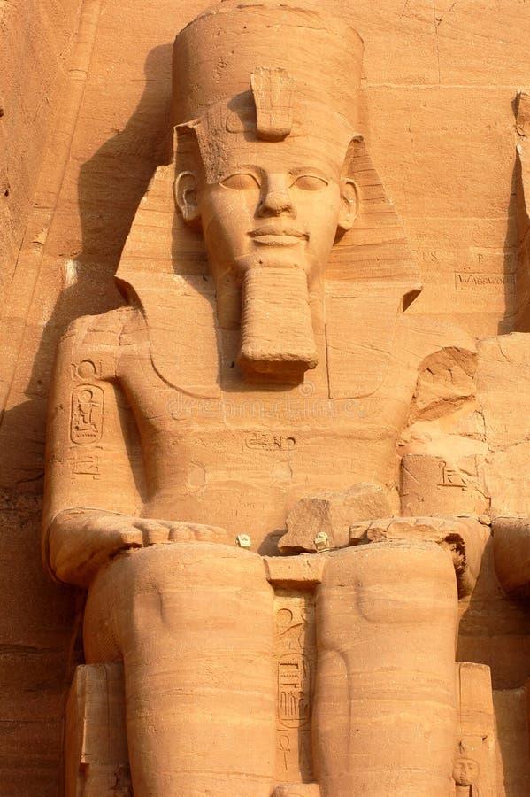 abuegypt simbel royaltyfria bilder