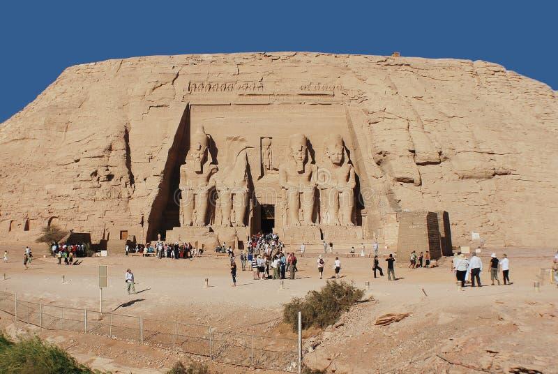abuegypt simbel royaltyfri foto