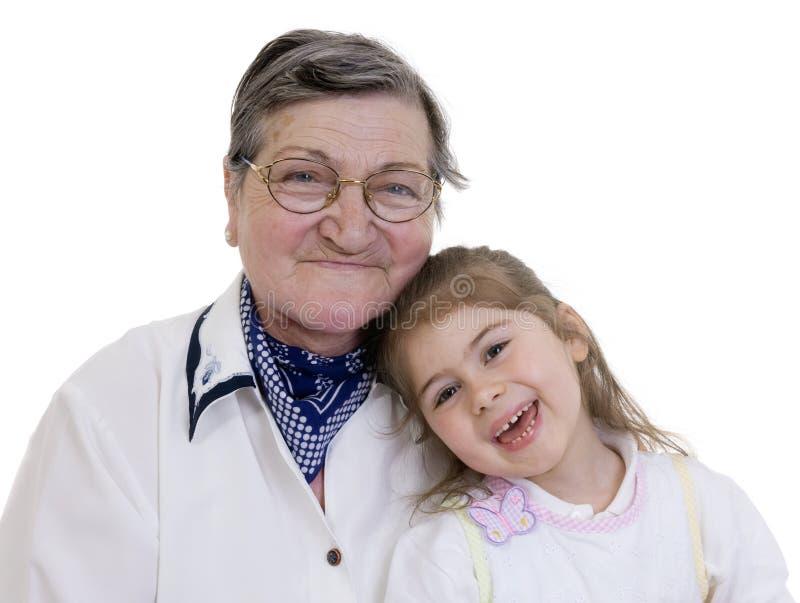 Abuela de la familia fotos de archivo libres de regalías