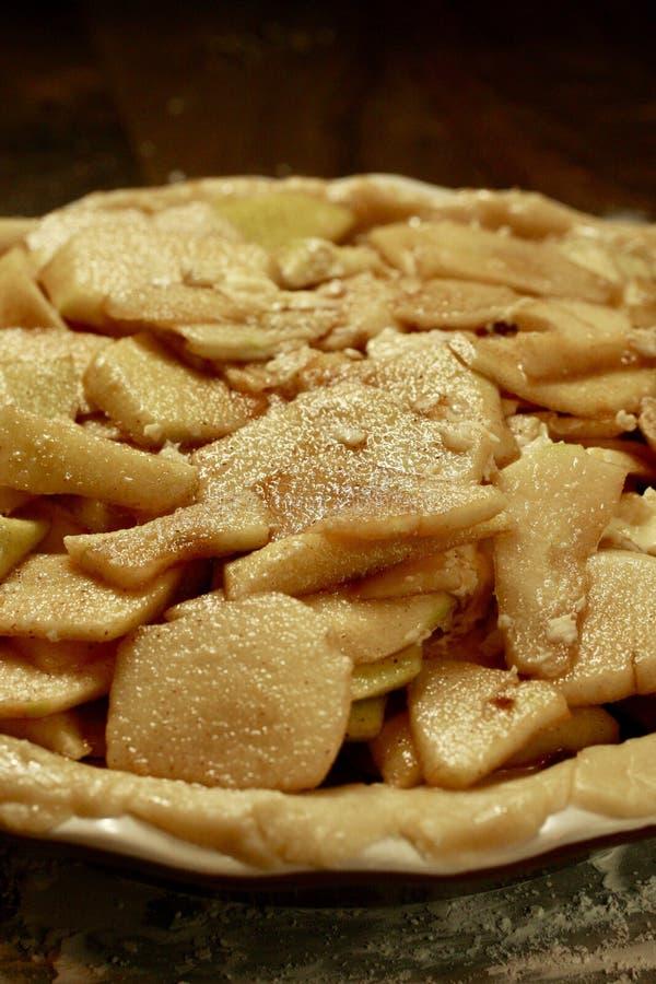 Abuelita Smith Apple Pie Tart imagenes de archivo
