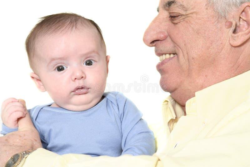 Abuelo fotografía de archivo