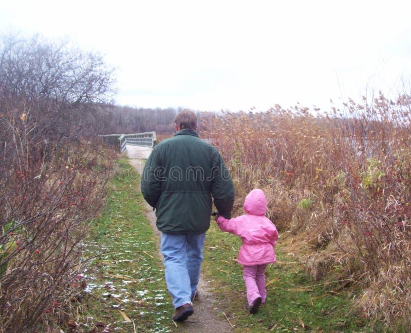 Abuelo y yo foto de archivo