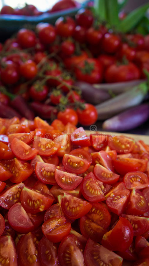 Abundance of Tomatoes royalty free stock images