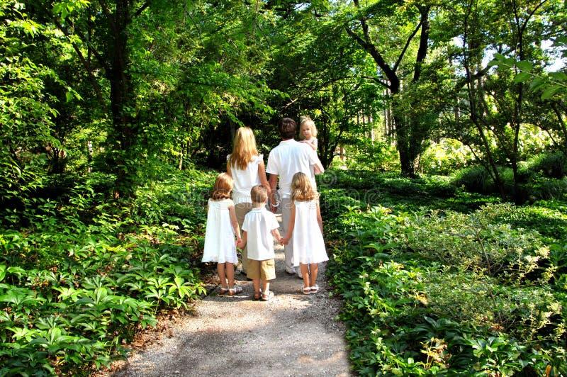 Abundant Family Life royalty free stock image