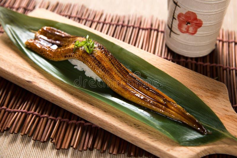 Aburi Anago (grigliato vedi l'anguilla) immagini stock