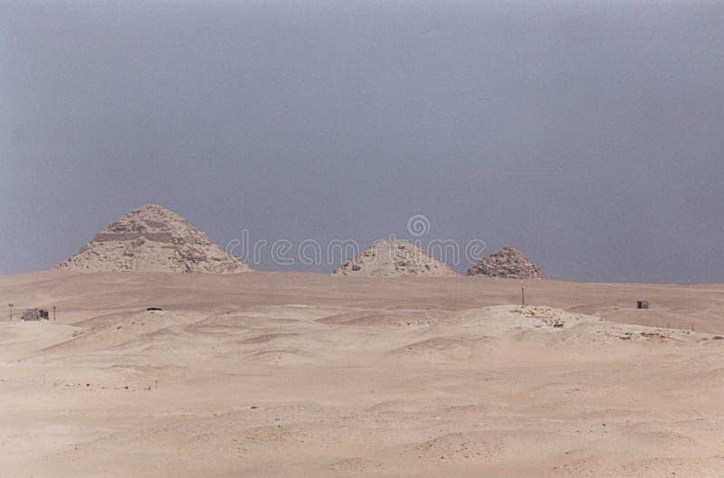 Abusir金字塔 免版税库存图片