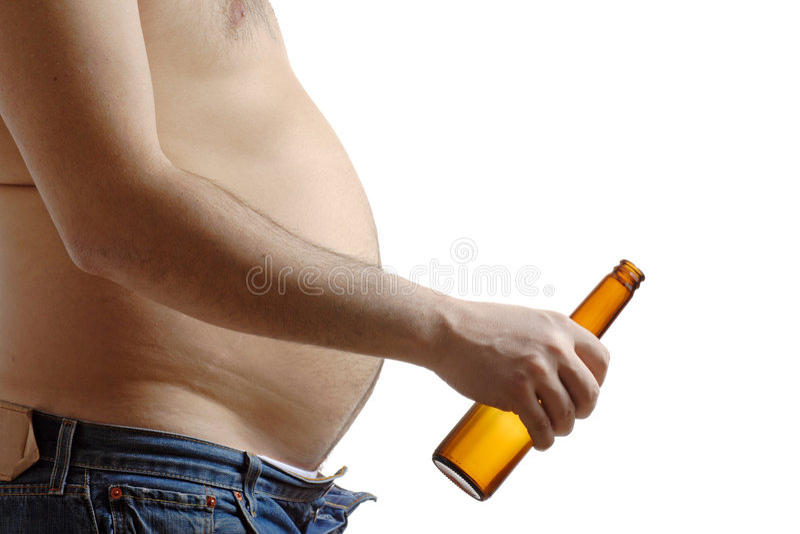 Abuso de álcool imagens de stock royalty free