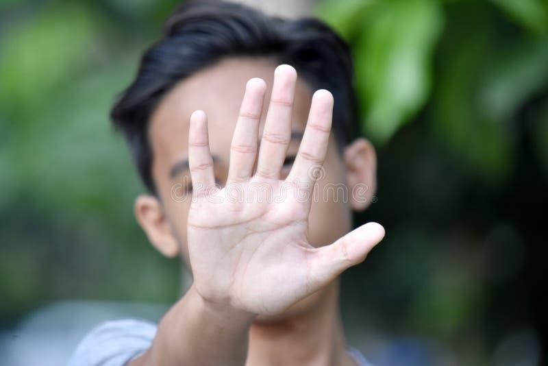 Abuso di bella persona filippina fotografia stock libera da diritti
