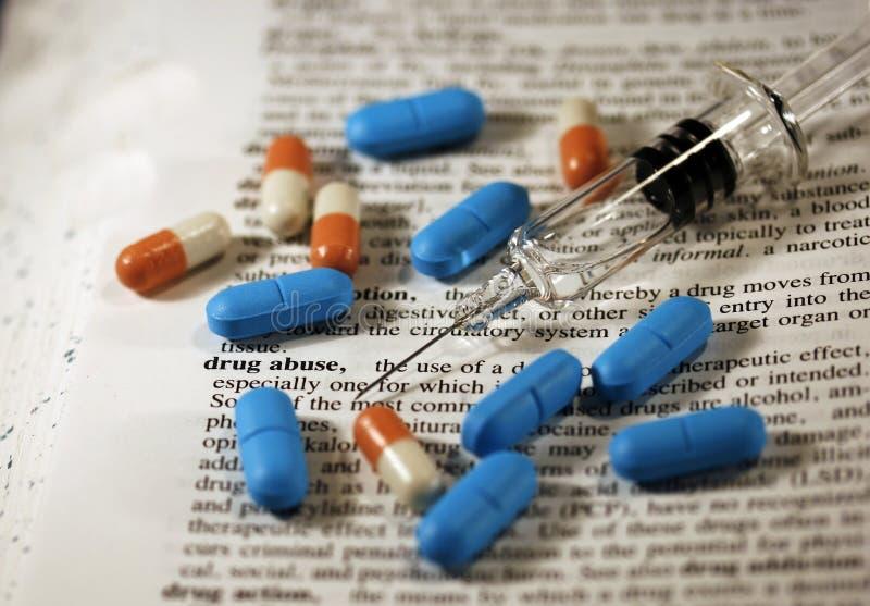 Abuso di droga immagini stock libere da diritti