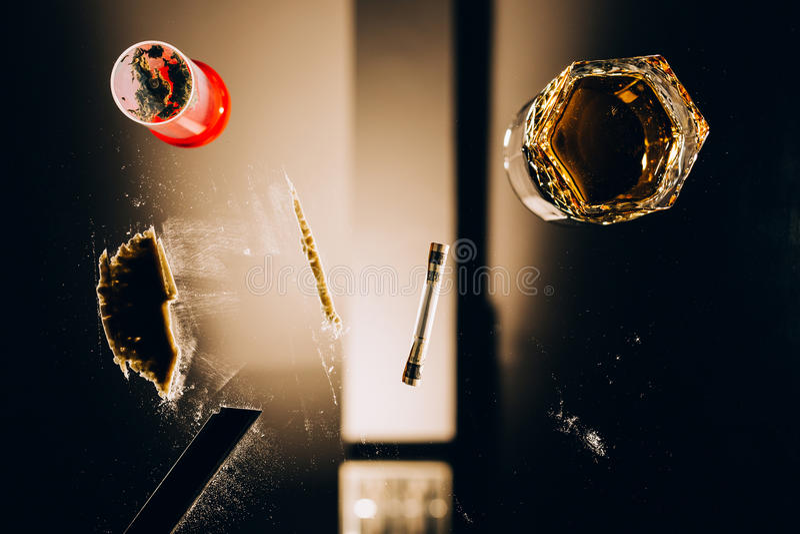 Abuso di droghe fotografie stock libere da diritti