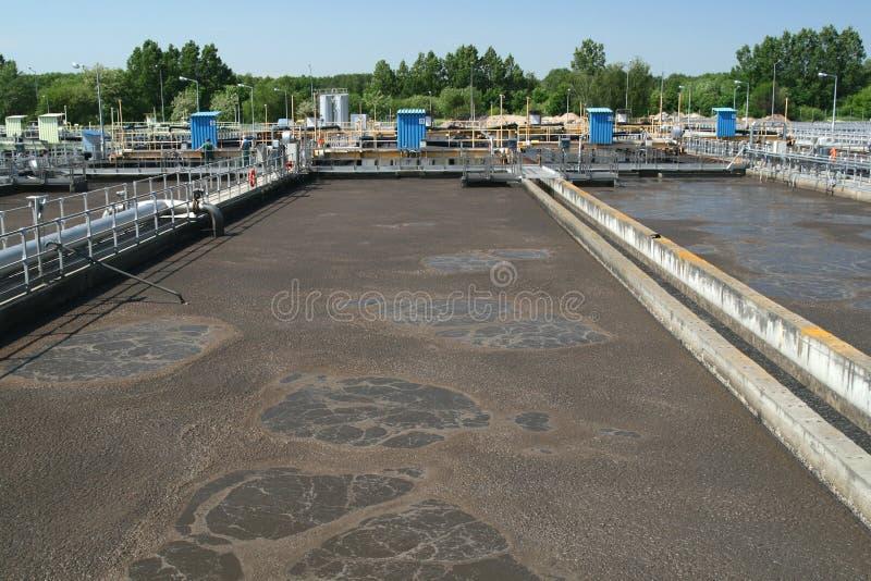 Abwasserbehandlung lizenzfreies stockbild