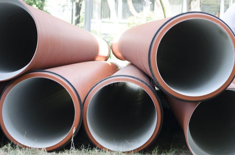 Abwasserleitungen lizenzfreie stockfotografie