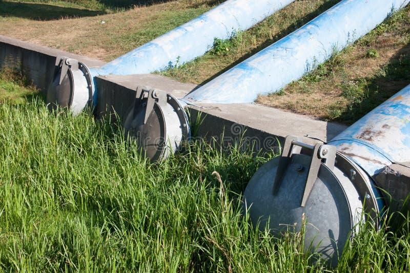 Abwasserleitungen lizenzfreie stockfotos