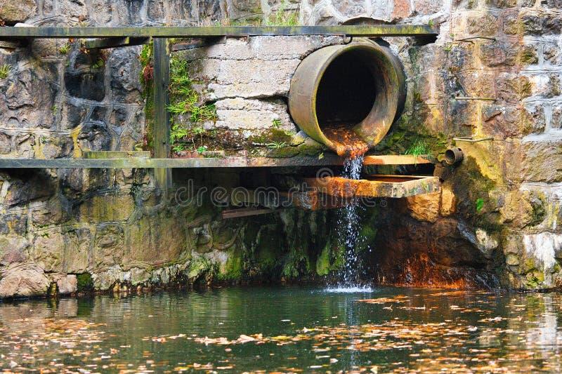 Abwasserrohr lizenzfreies stockbild