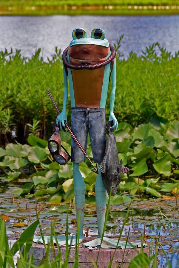 Żaby osoba zdjęcie stock