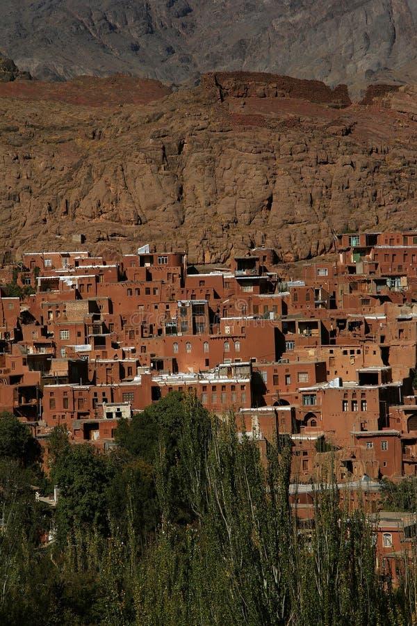 Abyaneh oud dorp royalty-vrije stock fotografie