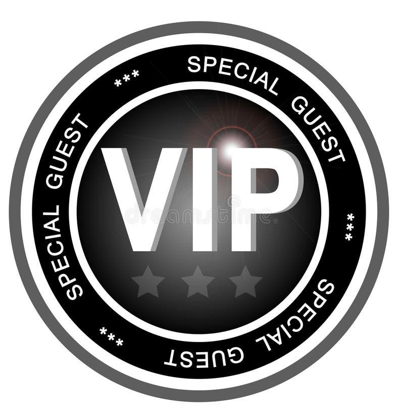 Abzeichen des VIP-speziellen Gastes lizenzfreie abbildung