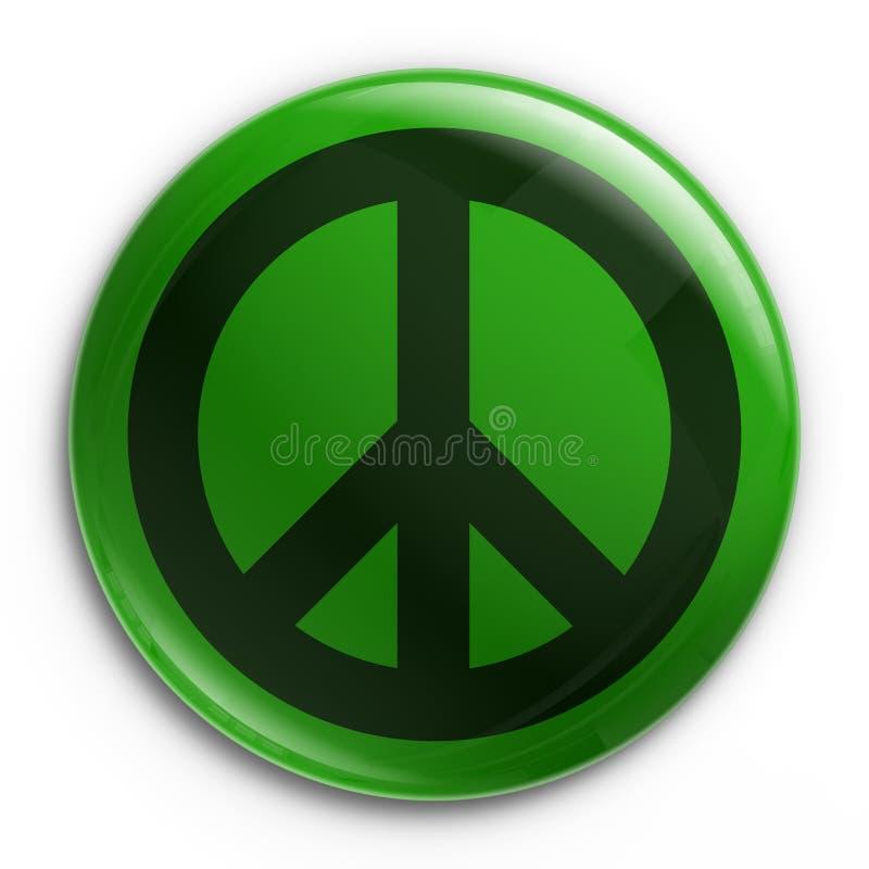 Abzeichen - Frieden lizenzfreie abbildung