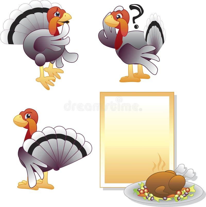 Acção de graças Turquia ilustração stock