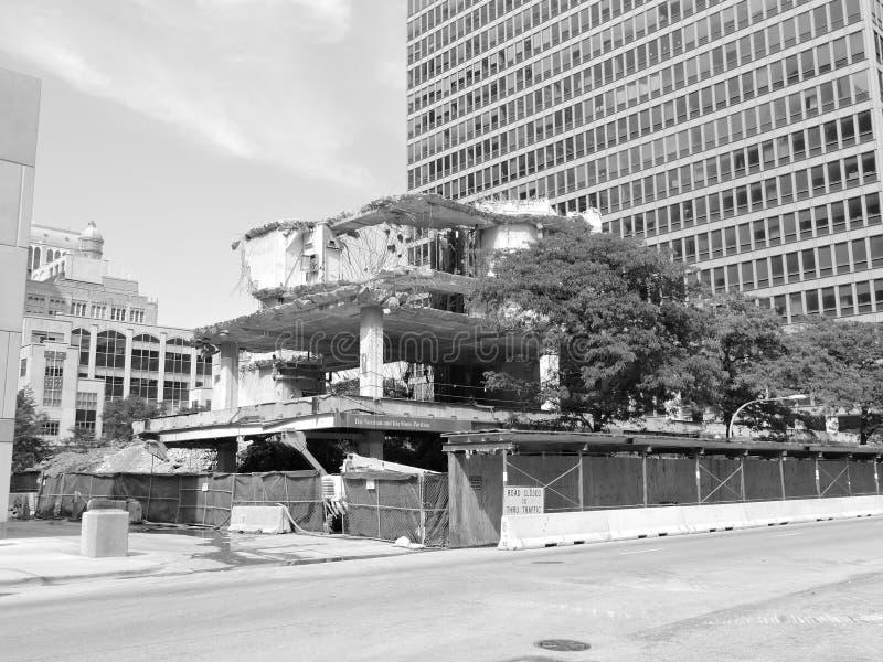 Acúmulo do centro das hortaliças da arquitetura de Chicago imagem de stock