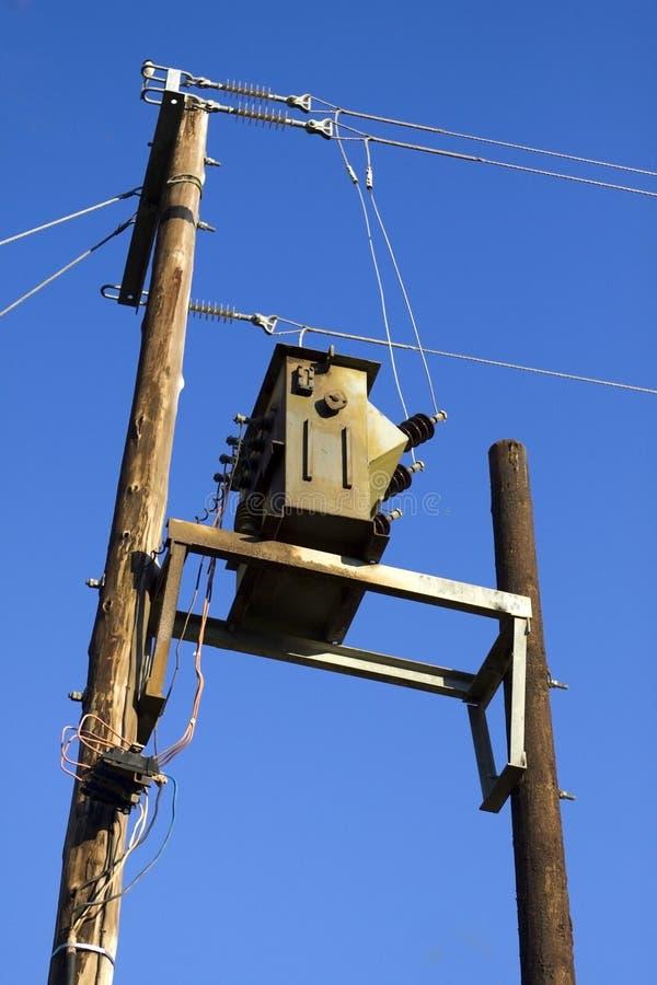 ac大功率变压器电压 免版税库存照片