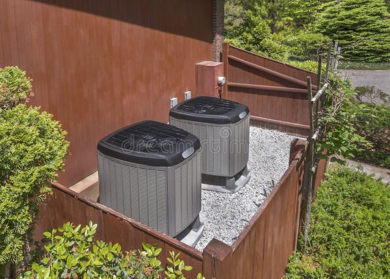 AC-heater unit stock photography