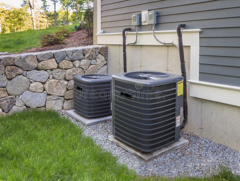 AC-heater unit stock photos